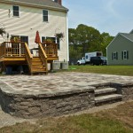 Attleboro Patio, Walkway, and Stairs