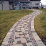 Curved Walkway Rehboth, Ma