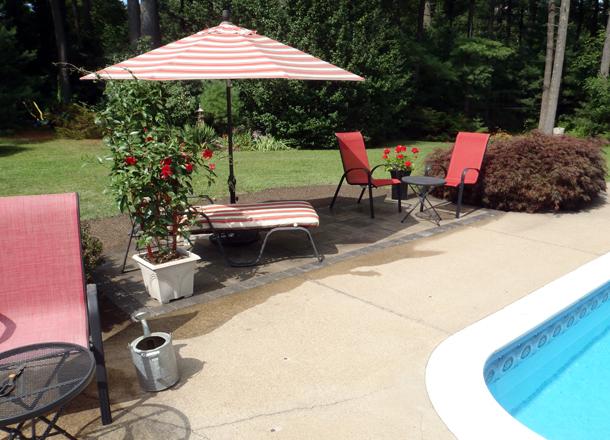Pool Side Patio
