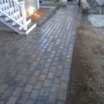 Walkway & Small Wall
