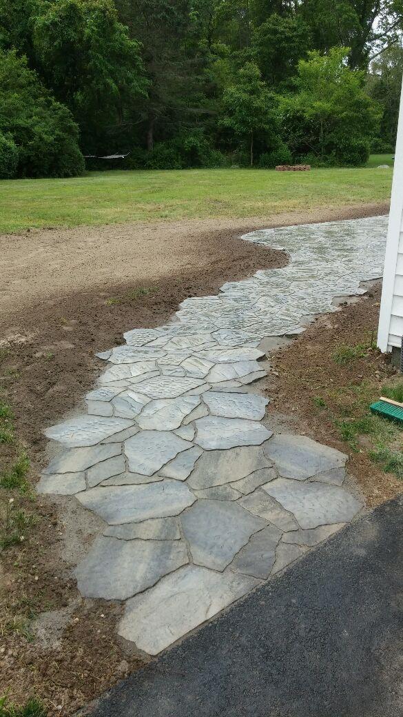 Stone Walkway
