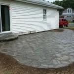 Stone Patio & Step