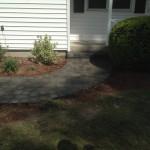 Walkway & Granite Step