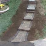 Multi-level Walkway & Granite Steps